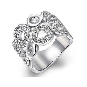 Prsten s krystaly Swarovski Kathleen, velikost 52