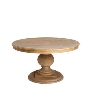 Jídelní stůl z borovicového dřeva Denzzo Genet, ⌀140cm