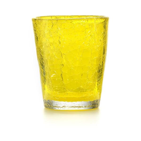 Set 6 ks sklenic Fade Ice, žlutý