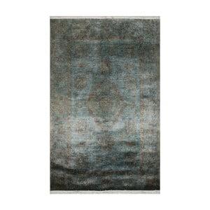 Modrozelený koberec Eco Rugs Diane, 75x150cm