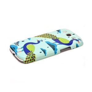 Obal na Samsung Galaxy S3 Jalebi Blue Lagoon Peacocks