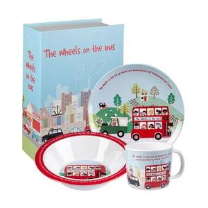 3dílný snídaňový set Churchill China Bus