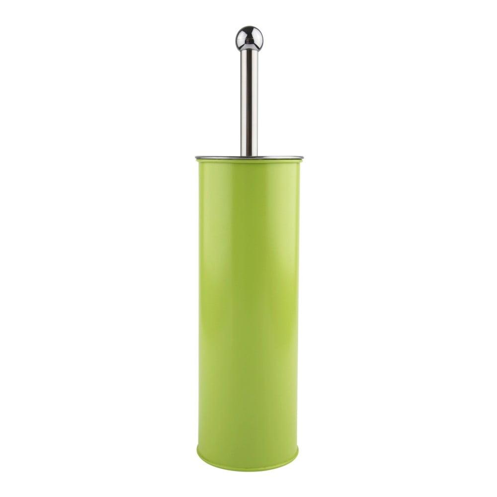 Perie verde limet pentru wc galzone bonami for Ustensile de wc
