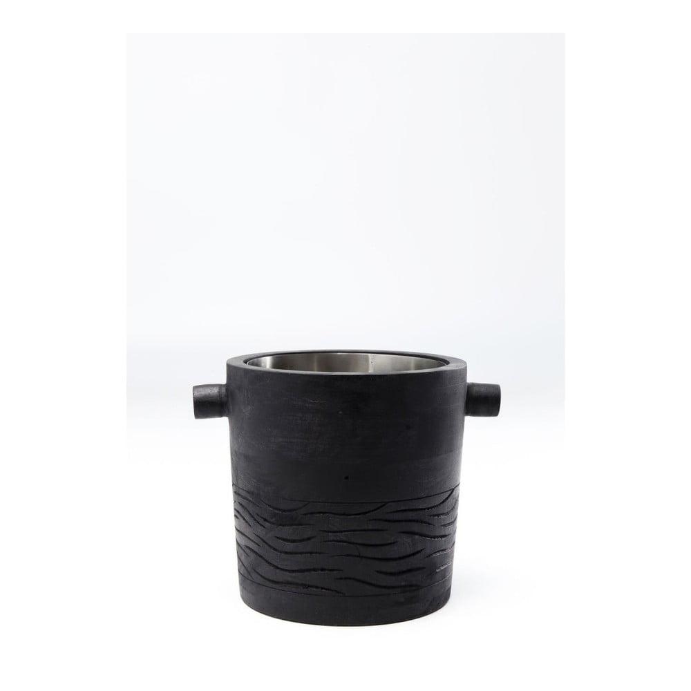 Černá chladící mísa na víno Kare Design Wine Cooler Daylight