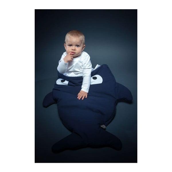 Dětský spací vak Baby Bites Blue Fish with Polka Dots