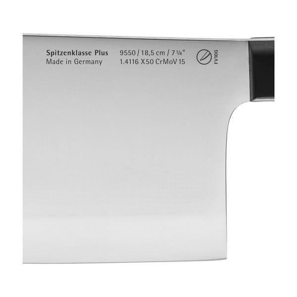 Cuțit pentru carne fabricat din oțel inoxidabil special forjat WMF Spitzenklasse, lungime 18 cm