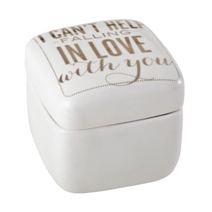 Porcelánová dóza Falling In Love