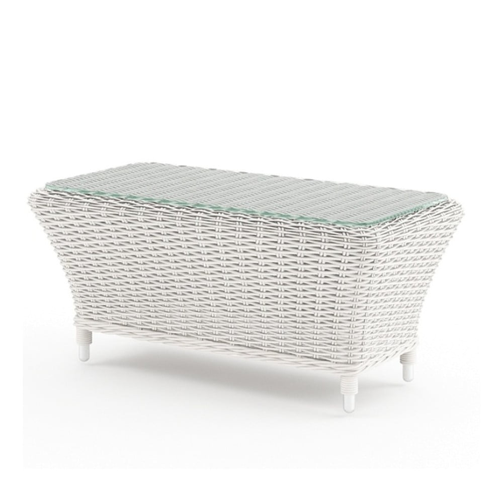 Bílý zahradní stolek Oltre Leonardo