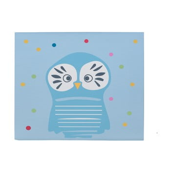 Tablou KICOTI Owl, 40 x 60 cm, multicolor de la KICOTI