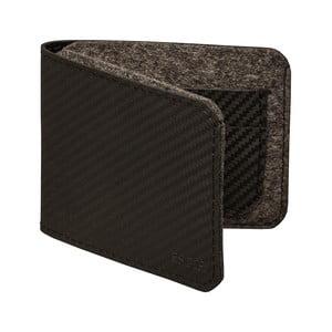 Pánská peněženka z pravé kůže Éstie, tmavě šedá