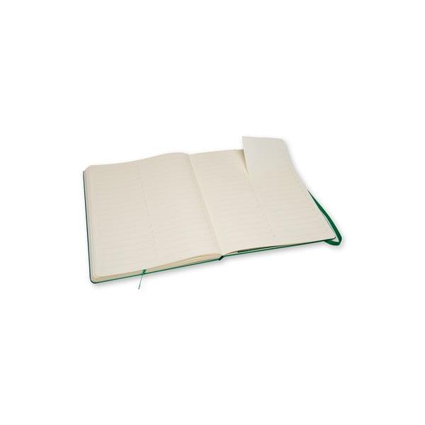 Zápisník Moleskine Pro Green, extra velký