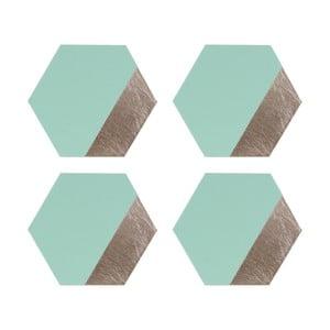 Sada 4 koženkových prostírání Premier Housewares Jade, 30 x 26