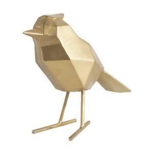Dekorativní soška ve zlaté barvě PT LIVING Bird Large Statue