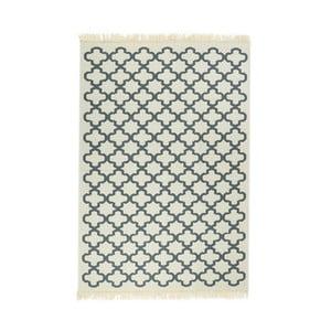 Modrý koberec Floorist Kare Blue, 120x180cm