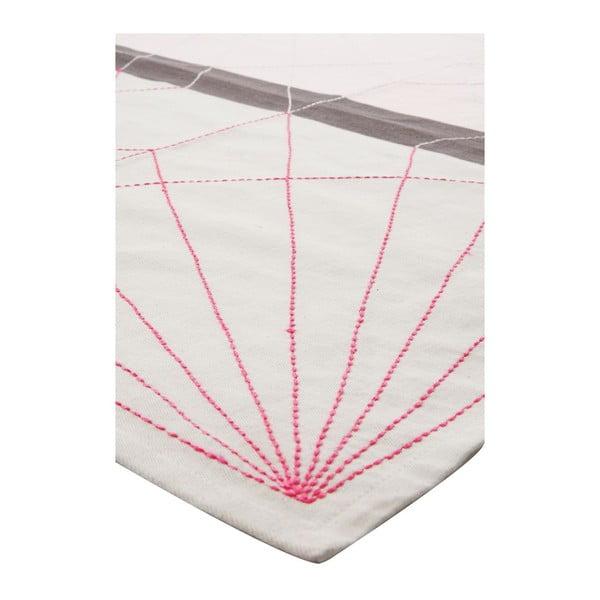 Kuchyňská utěrka Crane Neon Pink, 55x65 cm