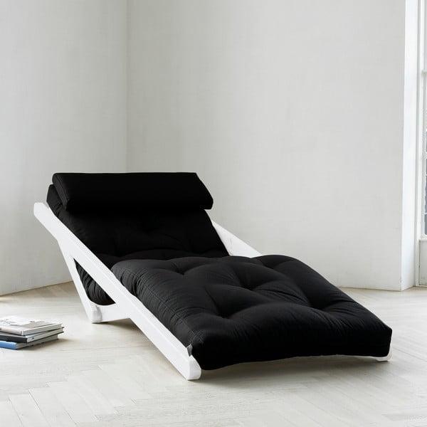 Lenoška Karup Figo, White/Black, 70 cm