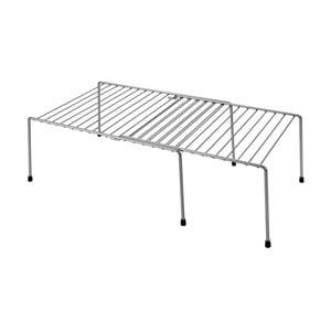 Etajeră extensibilă pentru dulapul de bucătărie Metaltex Adapto