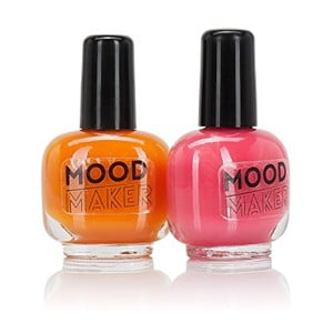 Sada 2 laků na nehty NPW Beauty Junky Colour Changing Polish Orange