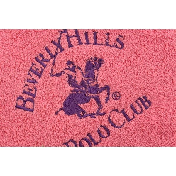 Bavlněný ručník BHPC 50x100 cm, růžový