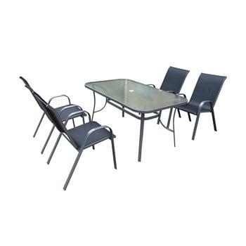 Set mobilier din metal pentru grădină Timpana Harbour