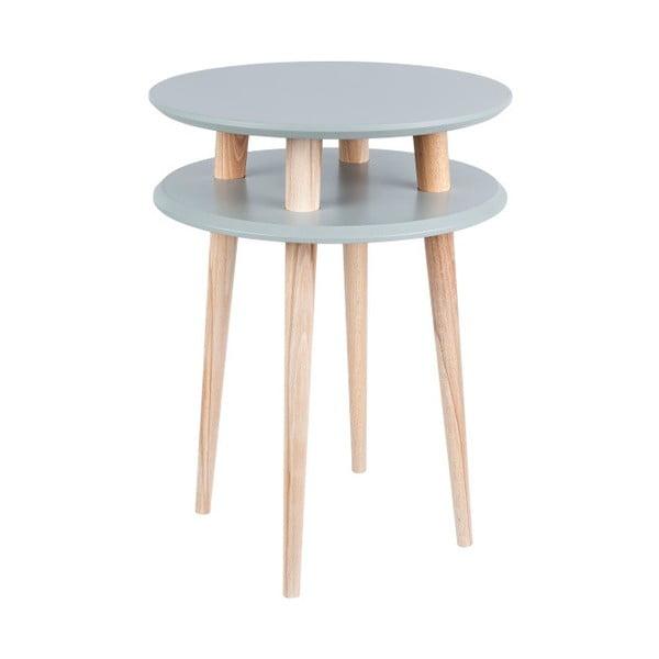 UFO sötétszürke dohányzóasztal, Ø45 cm - Ragaba