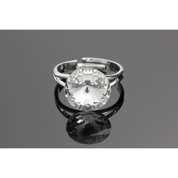 Prsten Rivoli Crystal se Swarovski Elements, univerzální velikost