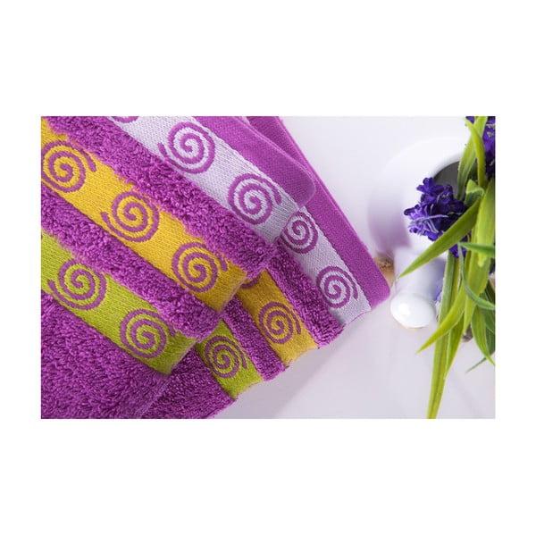 Set dvou ručníků Truva Lilac, 50x90 cm
