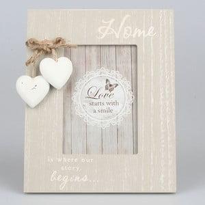 Fotorámeček Vintage Hearts, 17x22 cm
