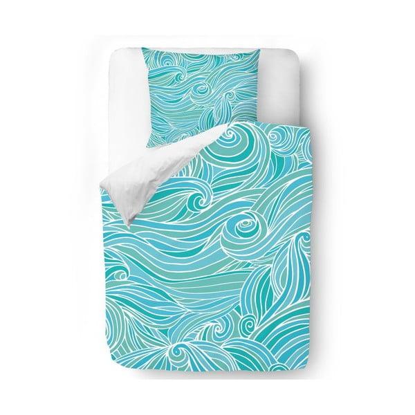 Povlečení Waves in Blue, 140x200 cm