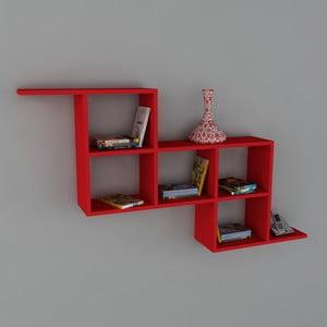 Police Zeta Book Red, 22x147,2x82,2 cm