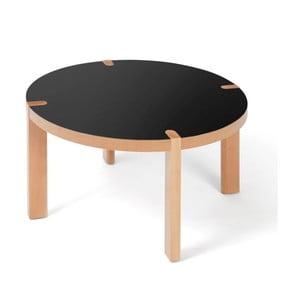 Stolek Candy Black, 30x60x60 cm