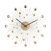 Ceas de perete Karlsson Sunburst, auriu