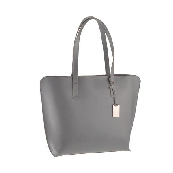 Kožená kabelka Vega, šedá