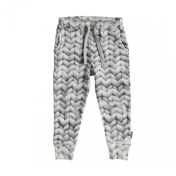Šedé chlapecké kalhoty Snurk Twirre, vel. 116