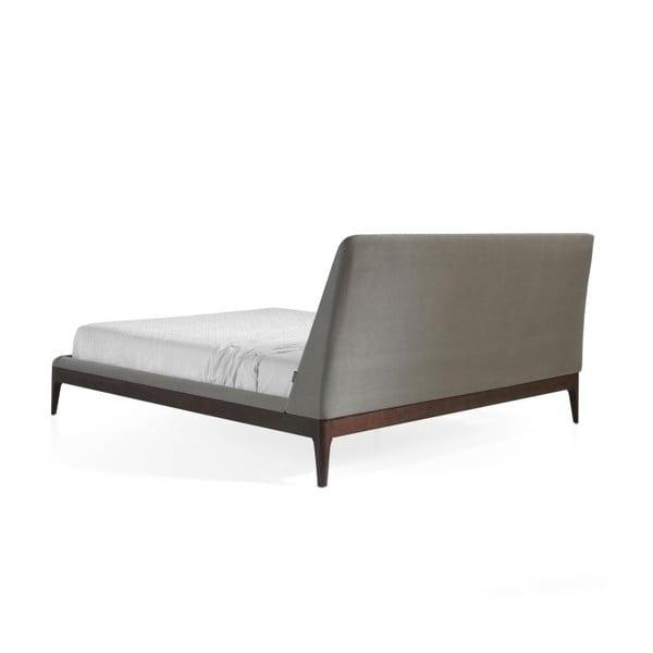 Rám postele z ořechového dřeva Ángel Cerdá Messe, 160 x 200 cm