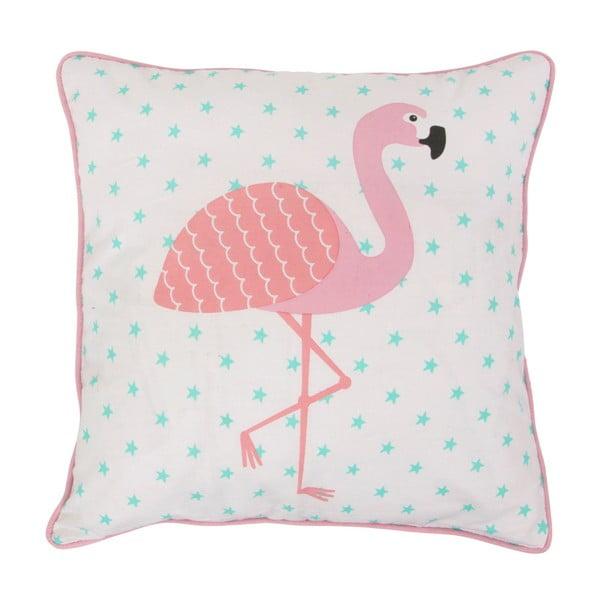 Polštář Sass & Belle Flamingo, 38x38cm