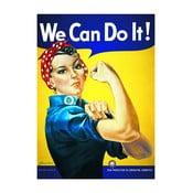 Plakát We Can Do It, 61x91 cm