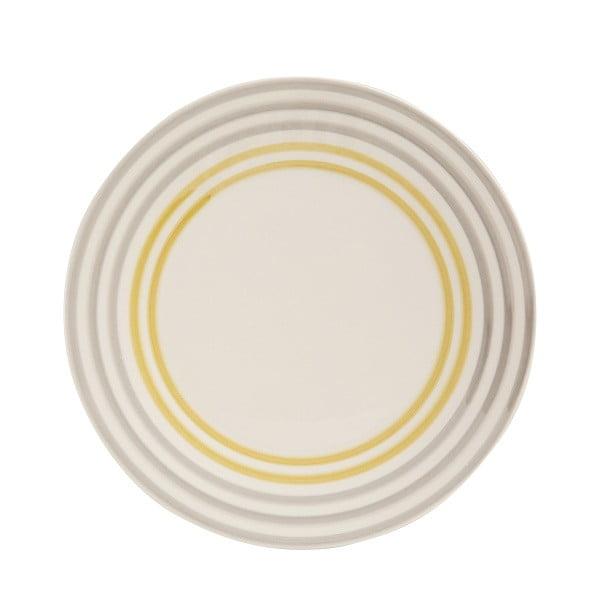 Sada 6 talířů Color Yellow 02