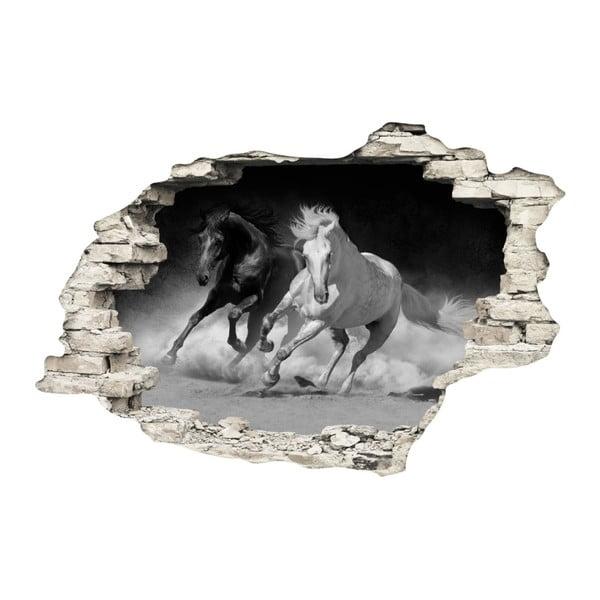 Samolepka Ambiance Horses, 60 x 90 cm