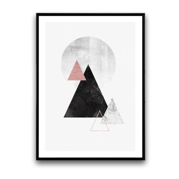 Plakát v dřevěném rámu Sylvatica, 38x28 cm