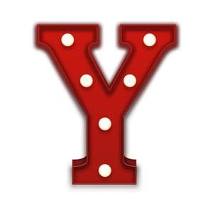 Dekorativní světlo Carnival Y, červené