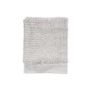 Světle šedý ručník ze 100% bavlny Zone Classic, 50x70cm