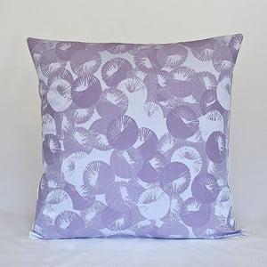Polštář s výplní Violet Rings, 50x50 cm