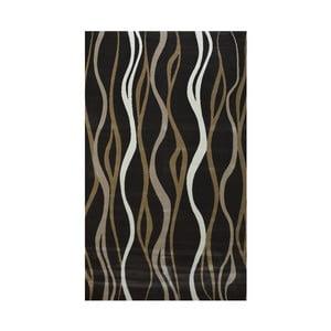Tmavě hnědý koberec Webtappeti Charcoal, 160x230cm