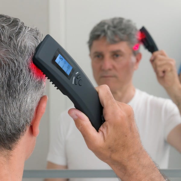 Perie pentru păr cu laser InnovaGoods Hair Force One