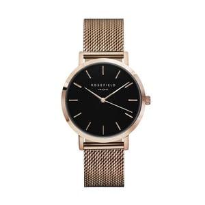 Dámské hodinky s černým ciferníkem RosefieldTheMercer