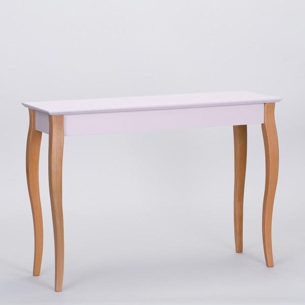 Růžový odkládací stolek Ragaba Console,délka105cm