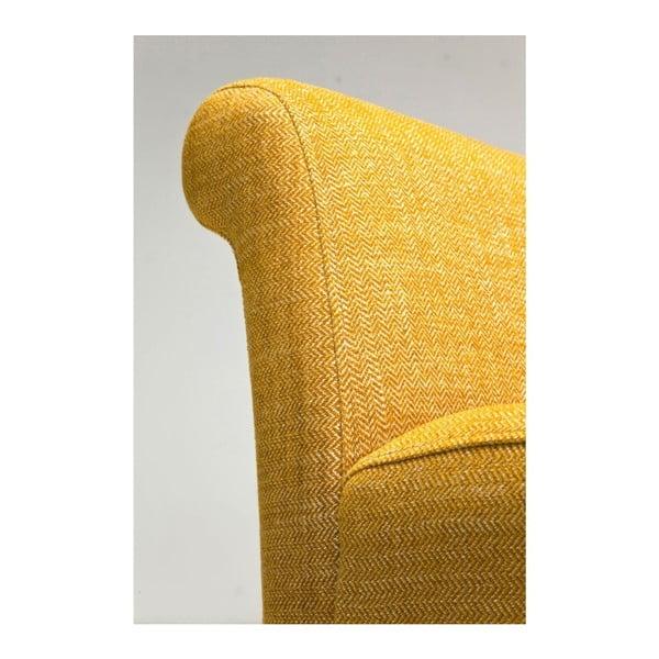 Žlutá lavice Kare Design Motley Rhythm