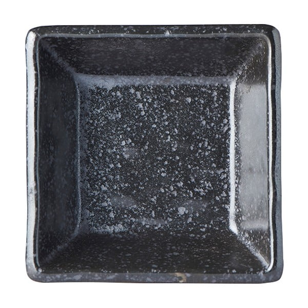 Czarna miseczka ceramiczna MIJ Matt, 9x9 cm