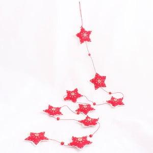 Girlanda s hvězdami Dakls, délka 150 cm